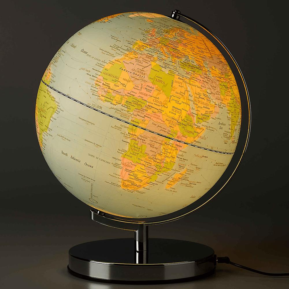 "Wild & Wolf Wild Wood Classic Globe Light 10"""