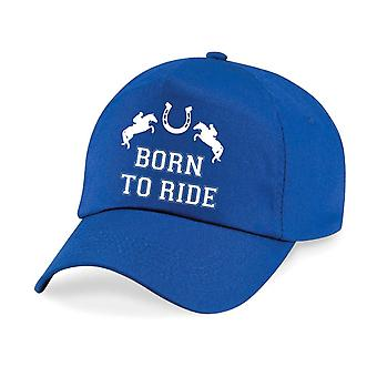 Adult Born to Ride Baseball Cap