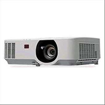 Nec p554u lcd videoprojector wuxga 5.500 ansi lume contrasto 20.000:1 colore bianco