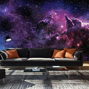 Artgeist Wallpaper Purple Nebula (Decoration , Wall murals , Wall murals standard)