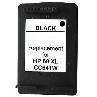 60XL Black  Remanufactured Inkjet Cartridge