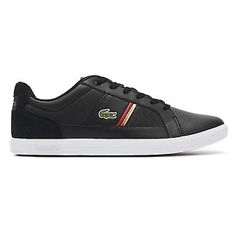 Lacoste Europa 319 1 Mens Black Trainers