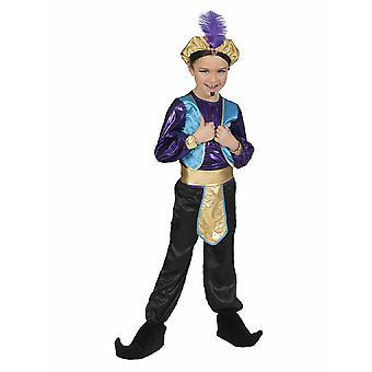 Costume Sultan Rami Child Orient 1001 Night Fairy Fairy Costume Carnival Carnival Carnival Pierros
