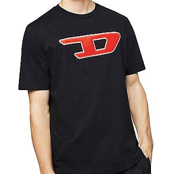 Diesel TJust Division D Logo TShirt