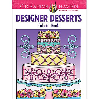 Dover Publications-Creative Haven Designer Desserts DOV-96325