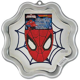 Novelty Cake Pan Spider Man 9.5