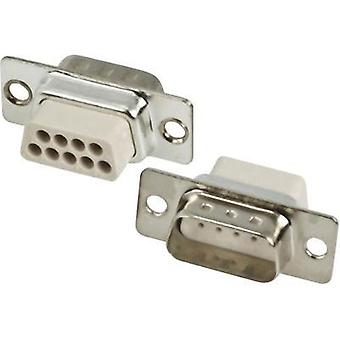D-SUB pin strip 180 ° Number of pins: 37 Crimp MH Connectors MHDBC37SP-NW 1 pc(s)