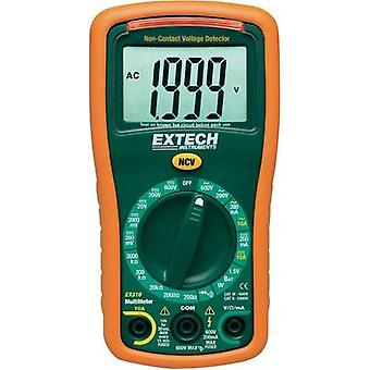 Handheld multimeter digital Extech EX310 Calibrated to: Manufacturer standards CAT III 600 V Display (counts): 2000
