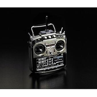 Futaba T18MZ WC Mode 2 Handheld RC 2,4 GHz No. of channels: 18 Incl. receiver