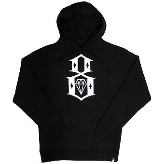 Rebel8 Standard Issue Logo Pullover Hoodie Black