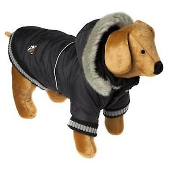 Doggy Things Dandy Parka Black (Dogs , Dog Clothes , Coats and capes)