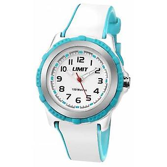 Limit Kids Active White Resin Strap White Dial 5596.24 Watch
