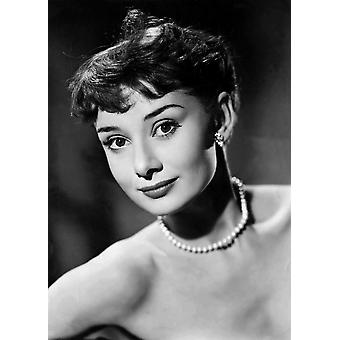 Audrey Hepburn Circa 1950S Photo Print