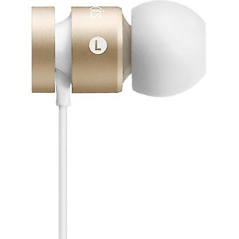 Beats by Dr.Dre MK9X2ZM/A bulk urBeats 2 ear headset, iPhone iPod iPad cashmere gold, dust protection plug