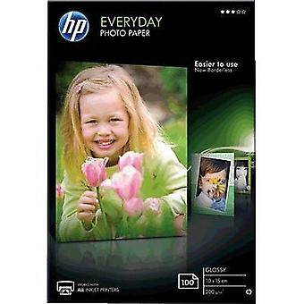 Photo paper HP Everyday Photo Paper CR757A 10 x 15 cm 200 gm² 100 Sheet Glossy
