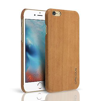 Celicious Authentik Apple iPhone 6s / iPhone 6 Natural madera Back Cover - cereza