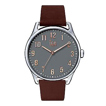Temps de glace de Ice-Watch Brown Pierre grand (013046)