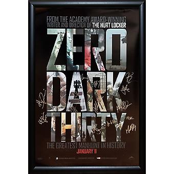 Zero Dark Thirty - Signed Movie Poster