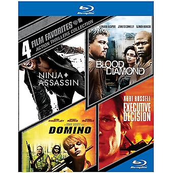 4 Film-Favoriten: Action Thriller [BLU-RAY] USA importieren