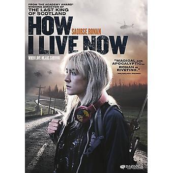 Cómo vivir ahora [DVD] USA importar