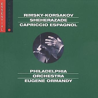 N. Rimsky-Korsakov-Rimsky-Korsakov: Sheherazade; Importación de Capriccio Espagnol [CD] Estados Unidos