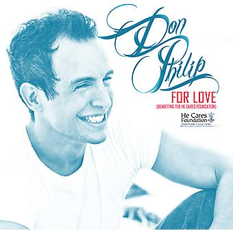 Don Philip - For Love (profitiert er Cares Foundation) [CD] USA importieren