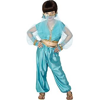 Princess costume child Arabia belly dance costume 6-8 years GrM