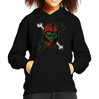 Wizard Of Weapons Masters Of The Universe Kid's Hooded Sweatshirt