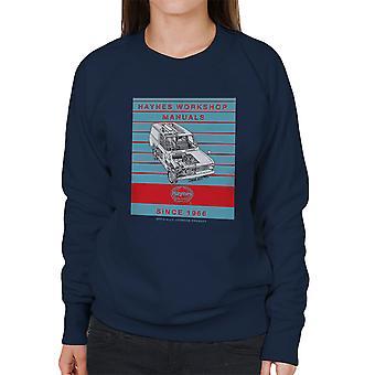 Haynes Workshop Manual 0607 Bedford HA Van Stripe Women's Sweatshirt