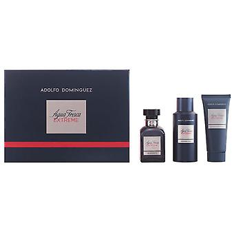 Adolfo Domínguez Fresh water Extreme Eau De Toilette 120 Ml + 2 Pieces