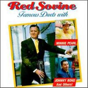 Rød Sovine - berømte duetter [CD] USA importerer