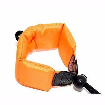 JJC Orange Floating Foam Camera Strap for Vivitar Vivicam 6200W / DVR-850W / VistaQuest VQ-5090WP, VQ-5900WP, VQ-8900WP / Yashica APW10