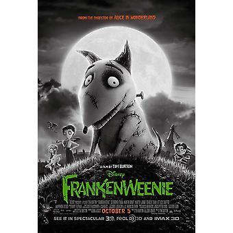 Frankenweenie Movie Poster (27 x 40)
