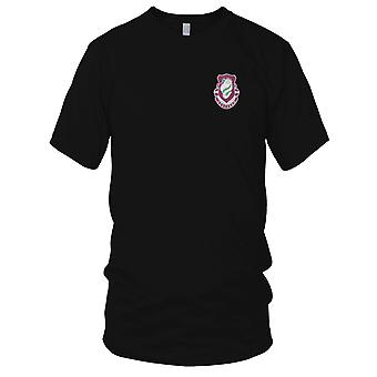 US Army - 326th Airborne Medical Battalion Embroidered Patch - Mens T Shirt