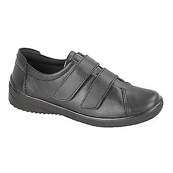 Mod Comfys Womens/Ladies 2 Bar Touch Fastening Leisure Shoes