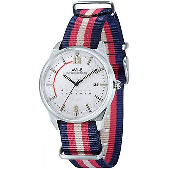 AVI-8 Hawker Hurricane Watch - Red/Blue/White