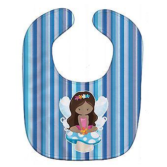 Carolines Treasures  BB6917BIB Fairy Blue Stripes Baby Bib