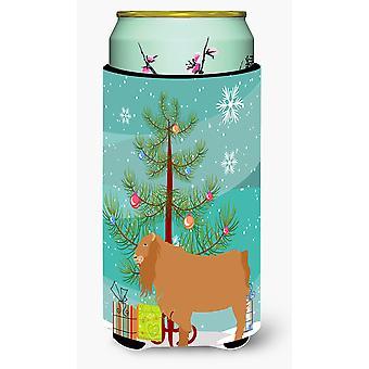 Amerikanische Lamancha Ziege Weihnachten großer Junge Getränk Isolator Hugger