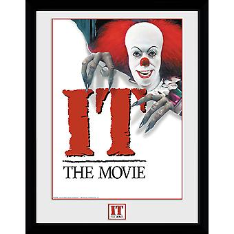 IT 1990 affisch inramad Collector Print