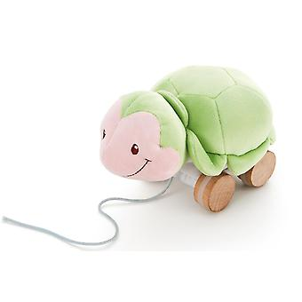 Felpa de Trudi remolcable tortuga juego