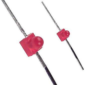 LED wired Red Circular 1.9 mm 25 mcd 50
