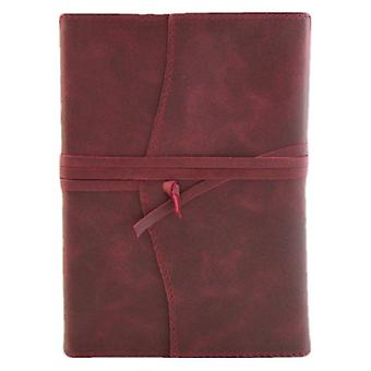 Coles Pen Company Amalfi Large Plain Refillable Journal - Burgundy