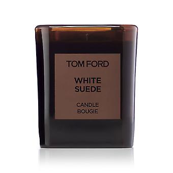 Tom Ford 'Pelle scamosciata bianca' candela 21oz nuovo In scatola