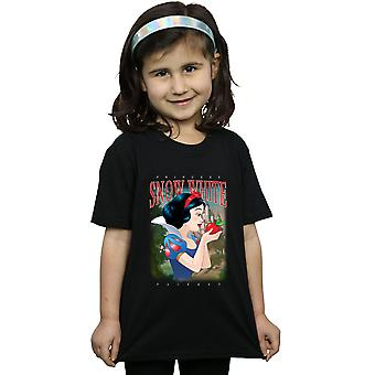 Ragazze Disney Biancaneve Montage bianco t-shirt
