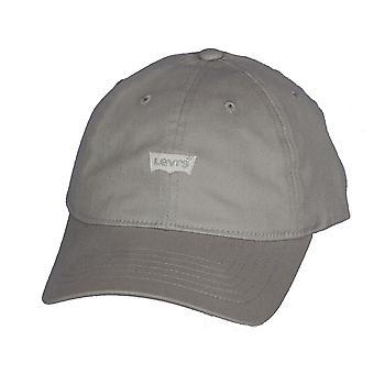 Classico Twill curva Flexfit Cap di Levi 110 ~ Mini a pipistrello grigio chiaro