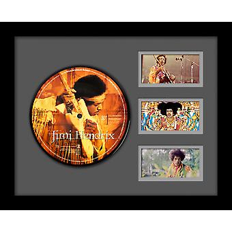 Jimi Hendrix - Live At Woodstock 30th ann. -  Picture Disc Single Custom Framed