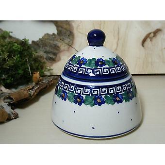 Sugar / jam jar, unique 52 - Bunzlau pottery tableware - BSN 6615