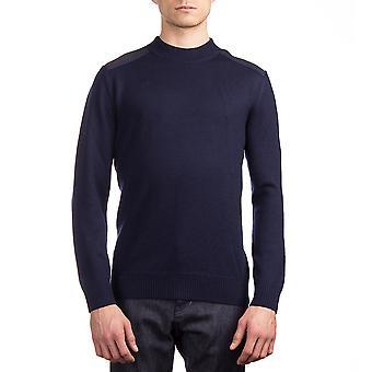 Moncler mænds uld Herre trøje blå