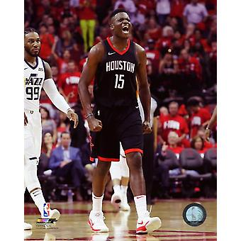Clint Capela 2017-18 Playoff Action Photo Print