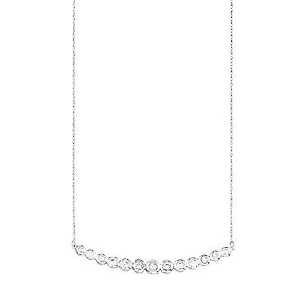 s.Oliver jewel ladies necklace silver cubic zirconia SO1407/1 - 566995